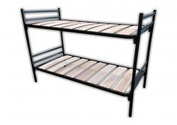 kaufen sie stahlrohr etagenbetten und matratzen online bei betriebseinrichtung sofort. Black Bedroom Furniture Sets. Home Design Ideas
